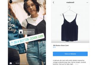 Social Shopping et Nametags pour Instagram