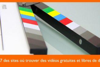 7 ressources gratuites pour vidéos libres de droits